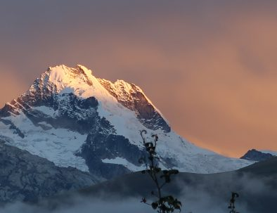 Mountain View Cordillera Blanca Sunset