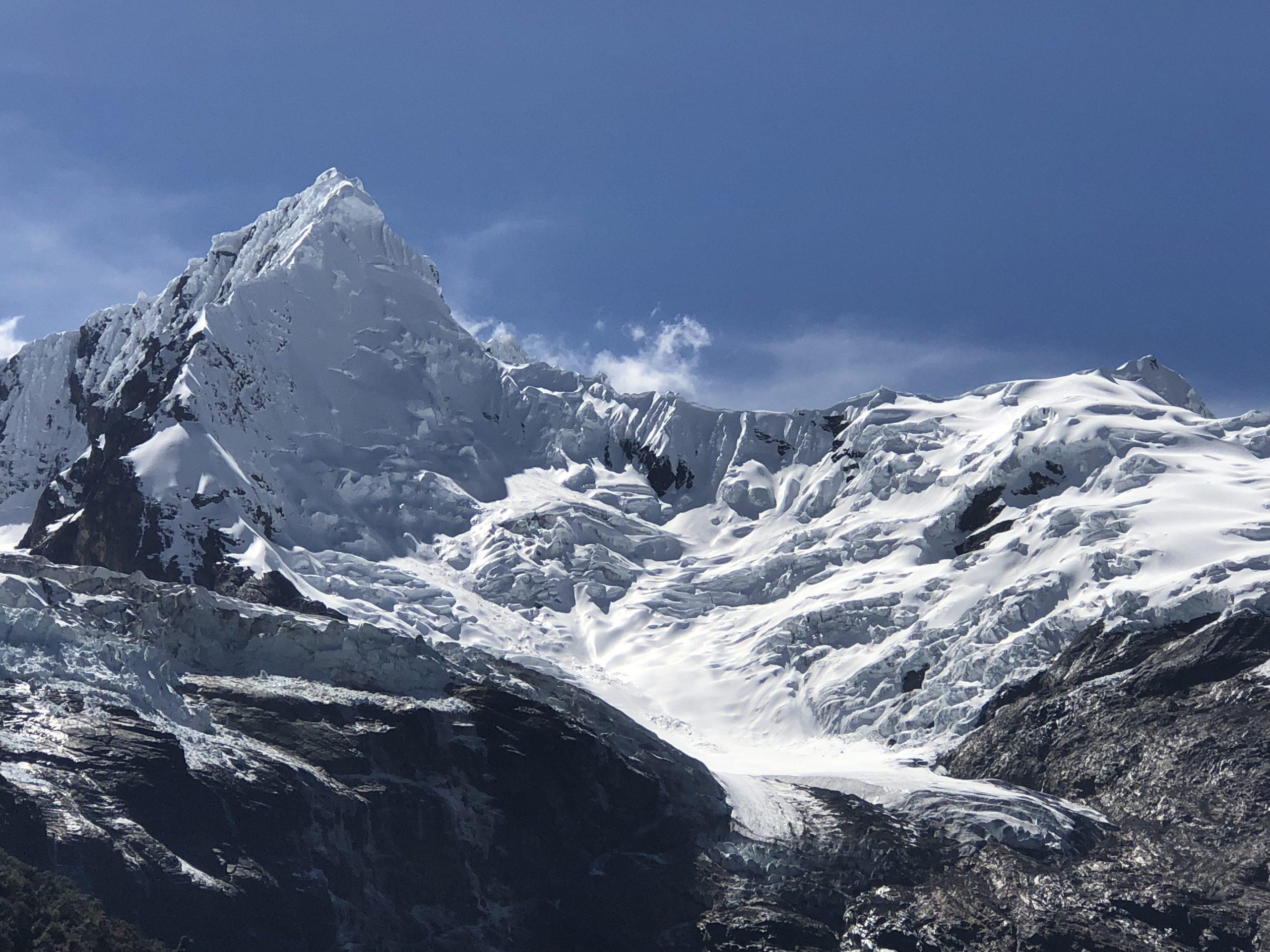Cordillera Blanca Glacier